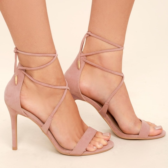 ef429af75e ... Up Heels 7. Lulu s Shoes - Lulu s Dusty Rose Lace ...